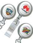 Multi-Color Imprinted Badge Reels.