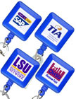 Blue Color Custom  Retractable IDs