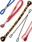 2-Loop-End Leashes - Overall View - Nylon, Elastic, Fabric, Cotton, Polyester Plastic Cord or Strap Leash Lanyards