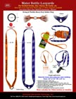 Sports Lanyards: Bottled Water Lanyards, Water Bottle Lanyard Supplies.