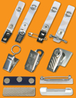 Metal Clips and Plastic Clips For Lanyards
