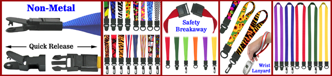<Click Here> Go To Main Menu - Universal Link Lanyards